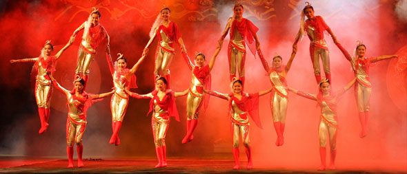Huxi Theatre Acrobatic Show in Shanghai